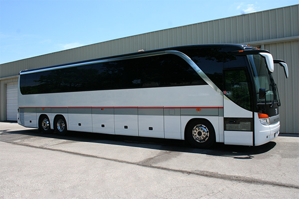 Fort Wayne 56 Passenger Charter Bus